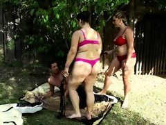 Bbw group sex with femdom elements
