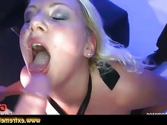 Chubby blonde babe amy is into wild sex