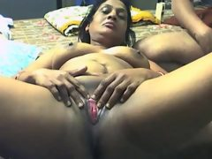 Amateur scene with indian bbw..