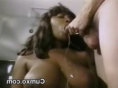 Nasty ghetto cum facial and ass pounded