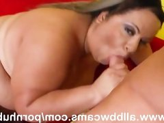 Black bbw woman fucked so hard flying..