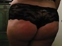 Bbw spanking and dirty talk