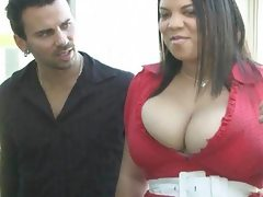 Bbw babes with big tits in interracial..
