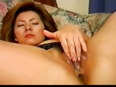 Sexy pretty japanese milf's hot cunt..