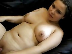 Fat chubby gf riding cock and fucking..