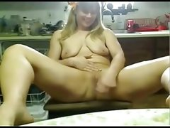 Nympho chubby barn girl cumming on cam..
