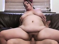 He seduces and fucks cute plumper