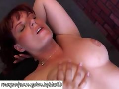 Cute chubby red head loves to fuck